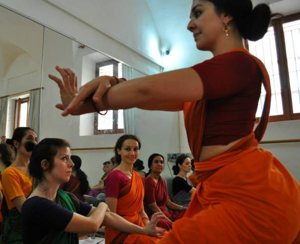 workshop con Smt. Usha Raghavan presso Centro L'Arco - Kalasagara Roma