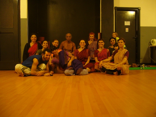 Workshop intensivo con Adyar LakshmanSir, Milano 2009