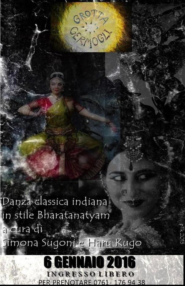 Bharatanatyam in grotta